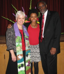 Rev. Mary Austin and her family